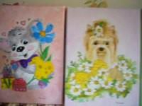 peintures pour amies