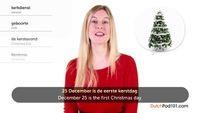 Kerstmis in Nederland (Dutch Holidays - Christmas)