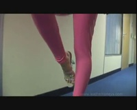 Michelle Monroe Creaking Catsuit - YouTube