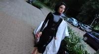 Latex fashion in public