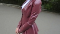 Classy Latex Business Outfit - YouTube