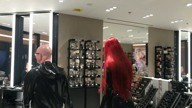 Shopping in latex (Christmas 2017)