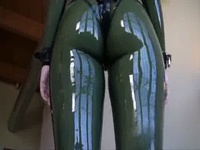 Green Transparent Latex