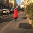 Défilé dans la rue.