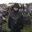 Il pleut au Festival.
