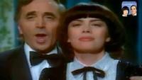 Une Vie D'amour - Charles Aznavour et Mireille Mathieu (textes français rus) - YouTube