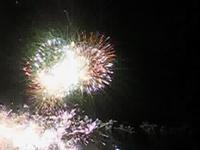 Le bouquet final - Artificiers: Lacroix-Ruggiéri - Feux d'artifice - Rogny les 7 ecluses - Juillet 2