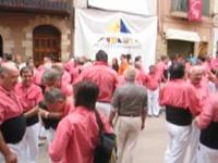Préparatifs - Tour humaine - Xiquets - les Castellers