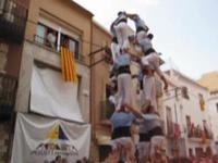 Tour chancelante - Tour humaine - Xiquets - les Castellers