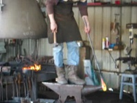 Fabrication anneau forgeron Hermione Rochefort