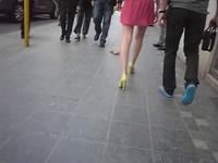En promenade en ville