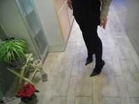 jupe courte noir guepiere noir