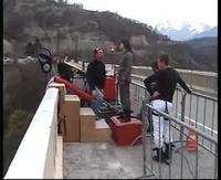Saut à l'élastique - Pont de Ponsonnas (Isère)