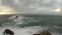 Pointe du raz (Cap Sizun), coup de vent du 14 déc 2011