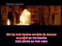 Dalida feat. Alain Delon - Paroles,Paroles - YouTube