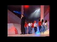 1991, Yéyé les tambours, Pierre Bachelet et la chorale de Bondy, à Stars 90 - YouTube