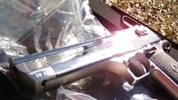 Desert Eagle .50AE shooting - YouTube