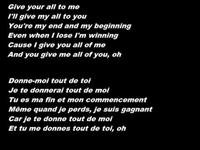John Legend - All of me (paroletraduction française)
