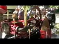 1895 4 HP Mery Explosive gas engine
