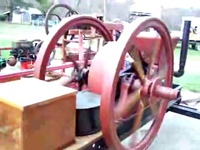 8hp Associated hit and miss engine