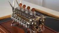 Motor W-32- Miniatura-W-32 Engine - YouTube